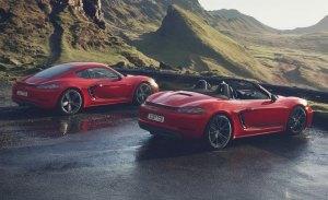 Los futuros Porsche 718 Cayman y 718 Boxster incluirán versiones híbridas y eléctrica