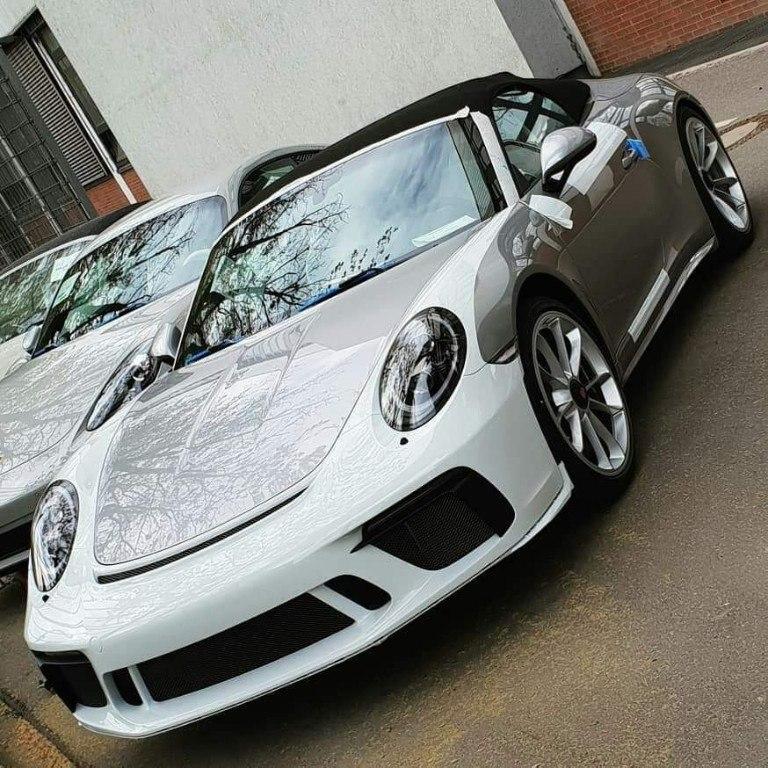 Porsche ya ha comenzado la producción del nuevo 911 Speedster