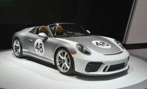 Así lucen los nuevos Porsche 911 Speedster (991) en vivo