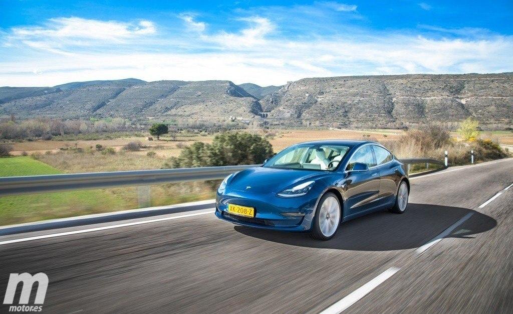 El Tesla Model 3 Standard Plus llega a España con 415 km de autonomía