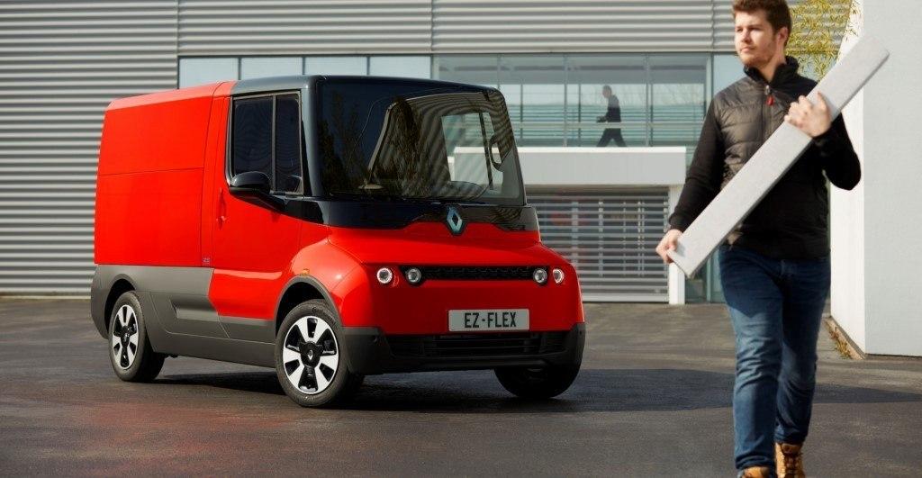 Renault EZ-FLEX, un comercial eléctrico en fase experimental para el futuro