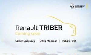 Renault Triber, así se llamará el nuevo monovolumen de bajo precio