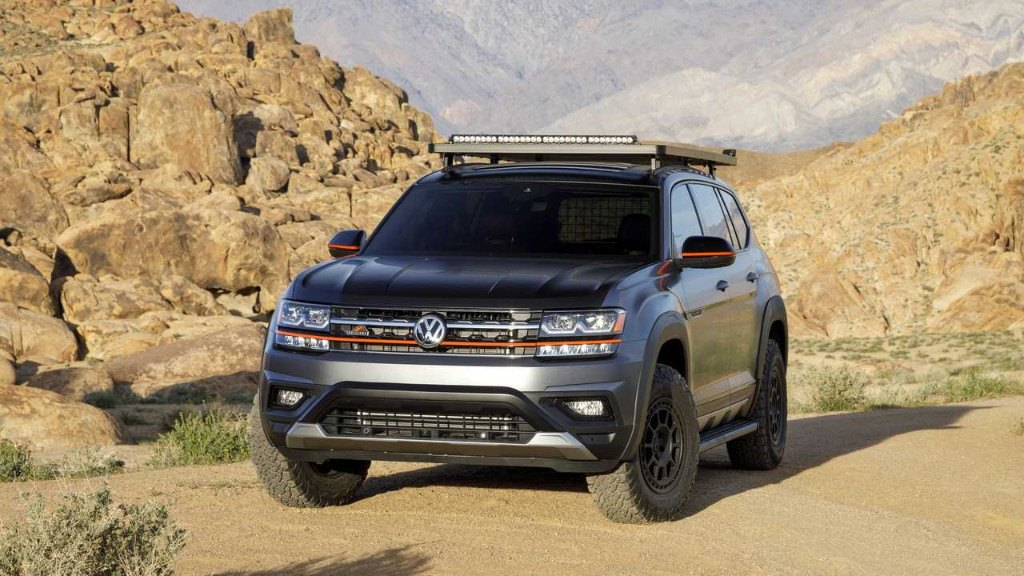 Volkswagen desvela el Atlas Basecamp concept antes de Nueva York