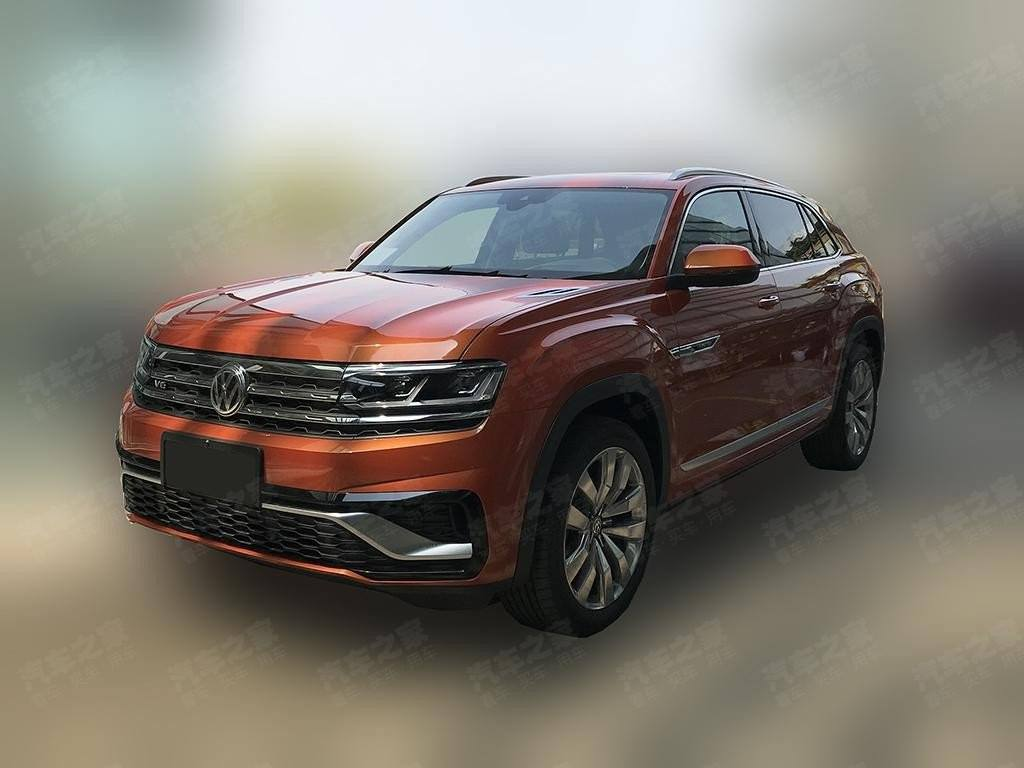 Nuevas imágenes filtradas del nuevo Volkswagen Atlas Coupé