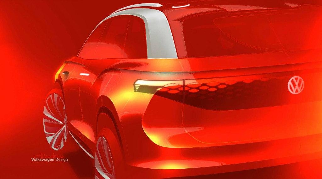 Nuevas imágenes del Volkswagen ID. Roomzz antes de su debut