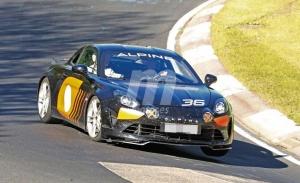 La versión de calle del Alpine A110 GT4 se ha destapado en Nürburgring