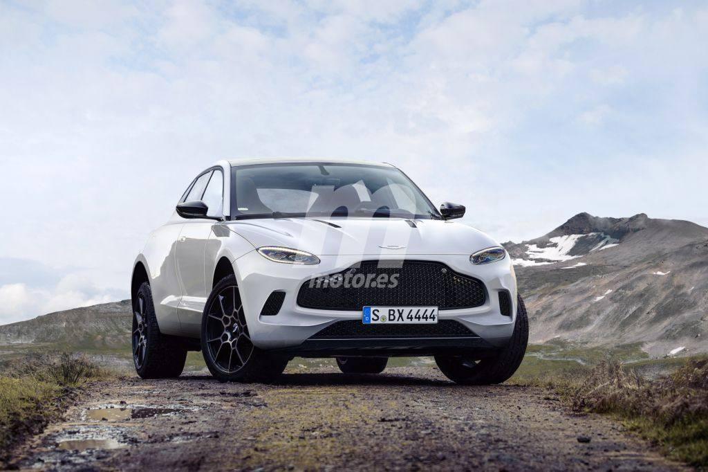 Anticipamos el aspecto del futuro Aston Martin DBX con este render