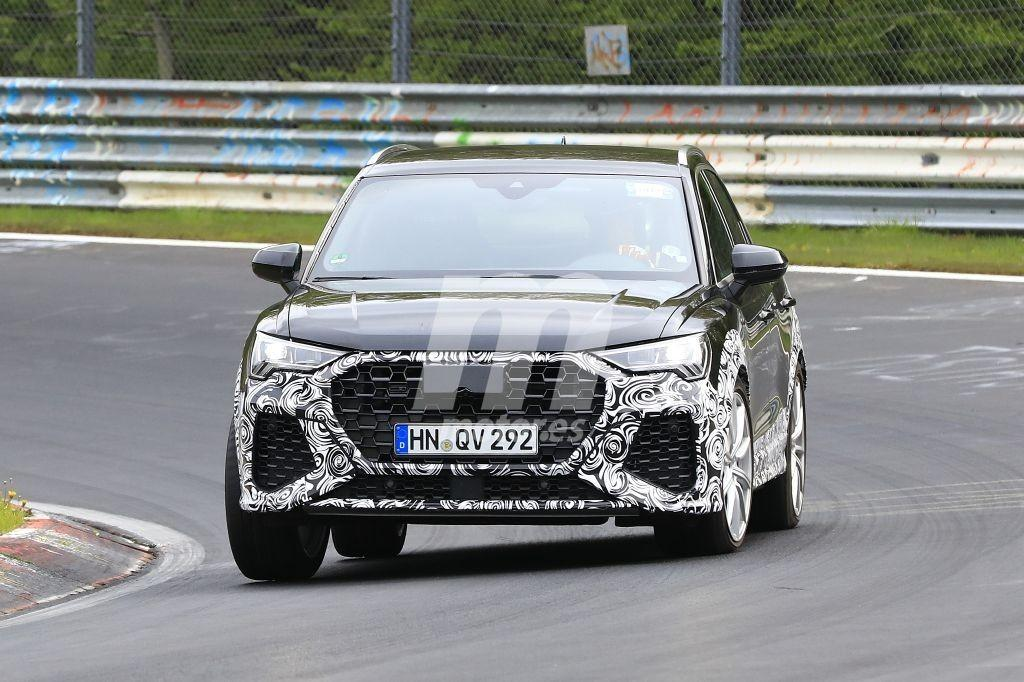 Los prototipos del nuevo Audi RS Q3 llegan al circuito de Nürburgring