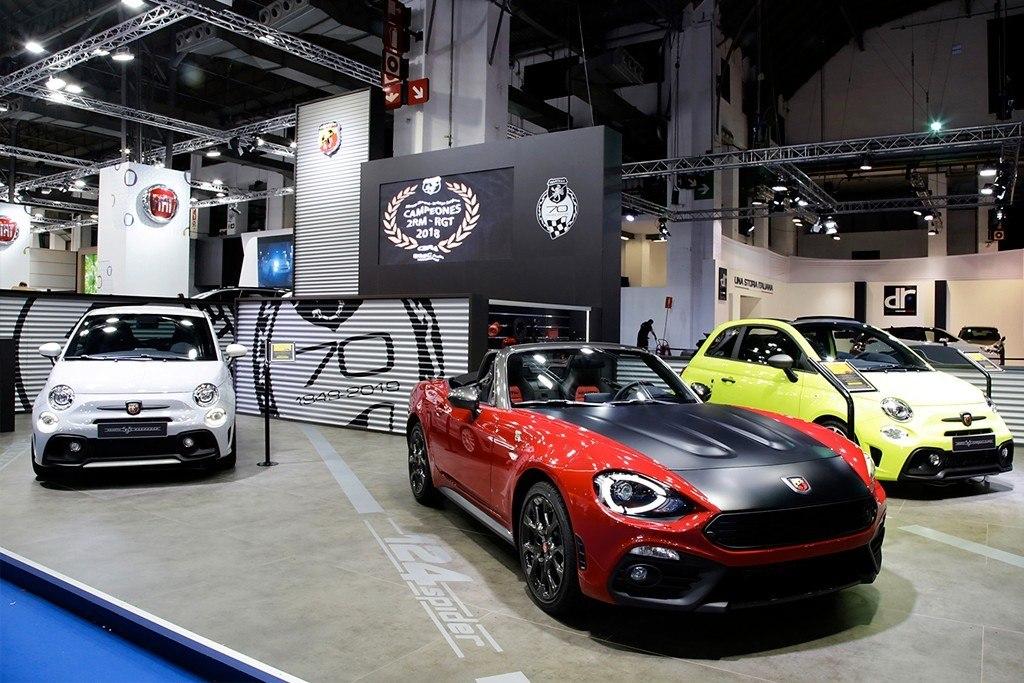 Las novedades de Abarth en el Automobile Barcelona 2019