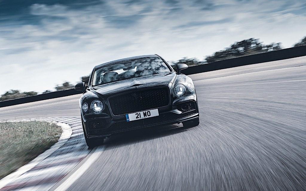 Bentley desvela las primeras imágenes del nuevo Flying Spur