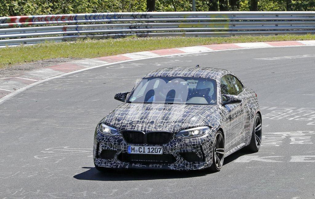 El nuevo BMW M2 CS 2020 llega a las pruebas de Nürburgring