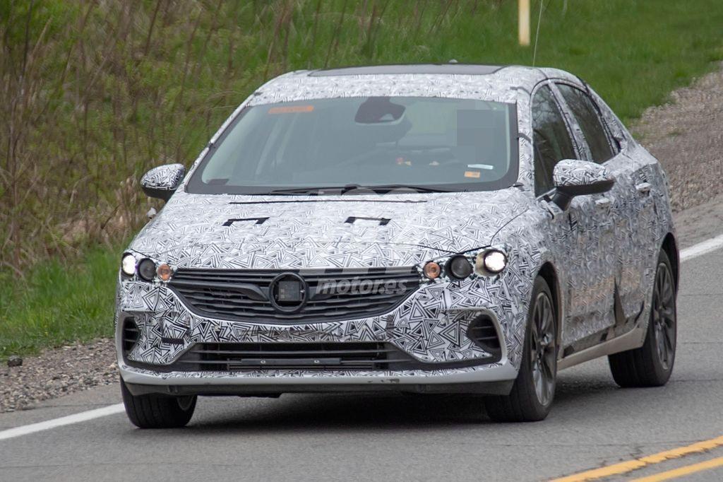Los prototipos del Buick Verano 2020 cazados en EEUU con nueva configuración