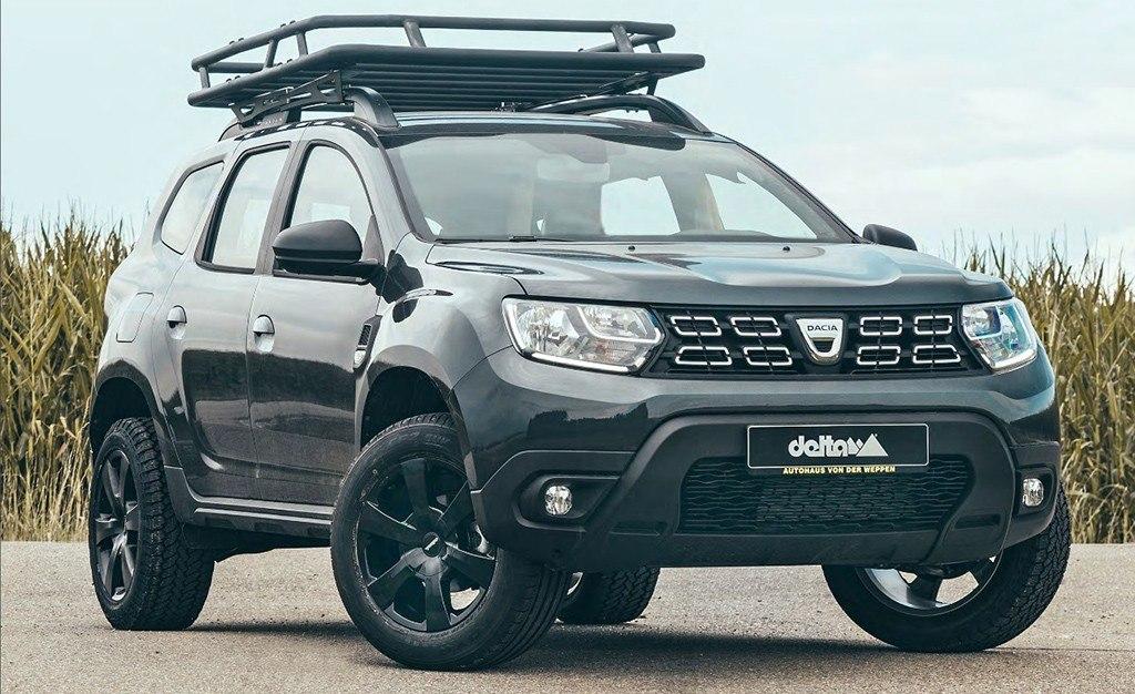 El Dacia Duster mejora sus capacidades off-road gracias a Delta4x4