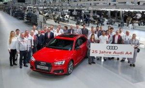 El Audi A4 celebra sus bodas de plata: 25 años en el mercado