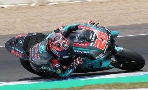 Fabio Quartararo marca la pauta en el test de MotoGP en Jerez