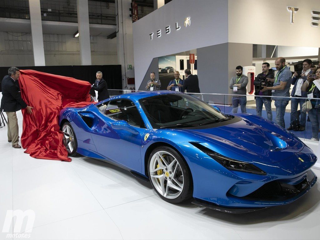 El Ferrari F8 Tributo debuta en España en Automobile Barcelona 2019