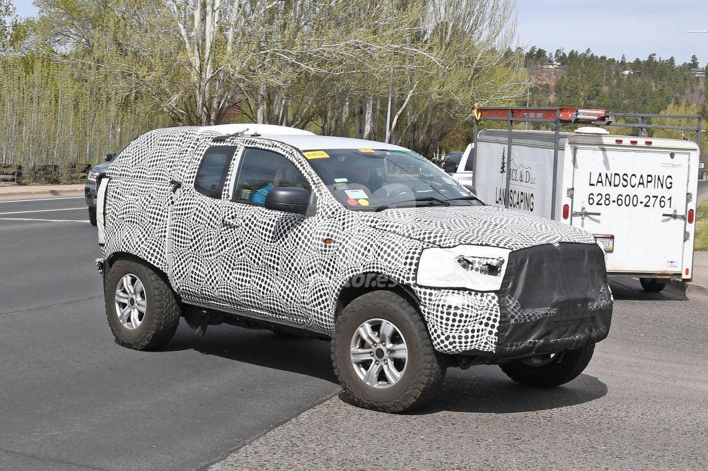 El futuro Ford Bronco nos enseña su robusto bastidor de largueros