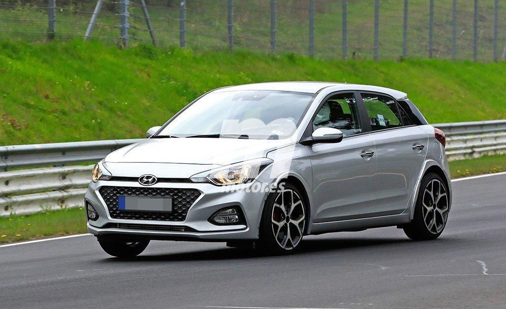 El nuevo Hyundai i20 N ya está en desarrollo y estas son sus primeras fotos