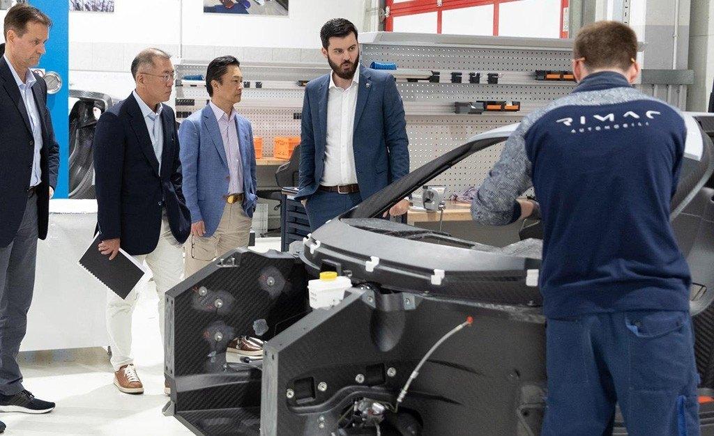 Hyundai lanzará coches eléctricos deportivos con la ayuda de Rimac