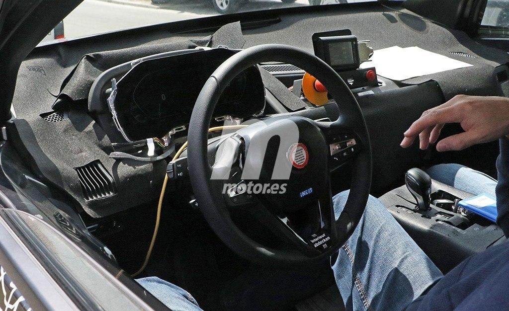 Un vistazo al interior del BMW iNEXT, el SUV eléctrico que está en desarrollo
