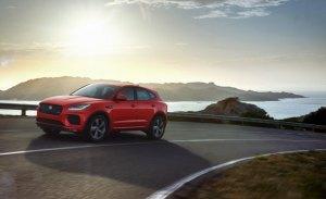 La edición especial Chequered Flag Edition también llega al Jaguar E-PACE
