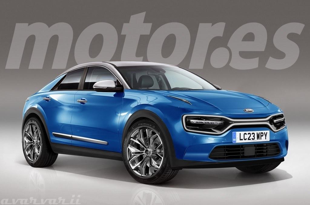 El nuevo coche eléctrico de Kia será un SUV Coupé y así será su diseño