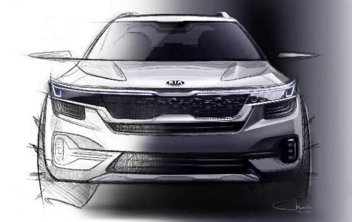 Kia avanza los primeros bocetos del nuevo A-SUV basado en el concepto SP Signature