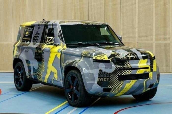 El nuevo Land Rover Defender cambia su camuflaje para los Juegos Invictus 2019