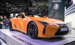 Lexus presenta el nuevo LC 500h 'Matte Prototype' en Automobile Barcelona