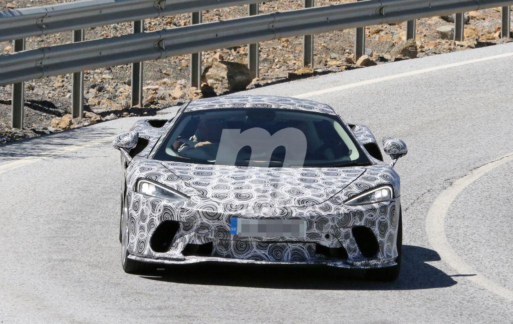 Avistado por última vez un prototipo del nuevo McLaren Grand Tourer