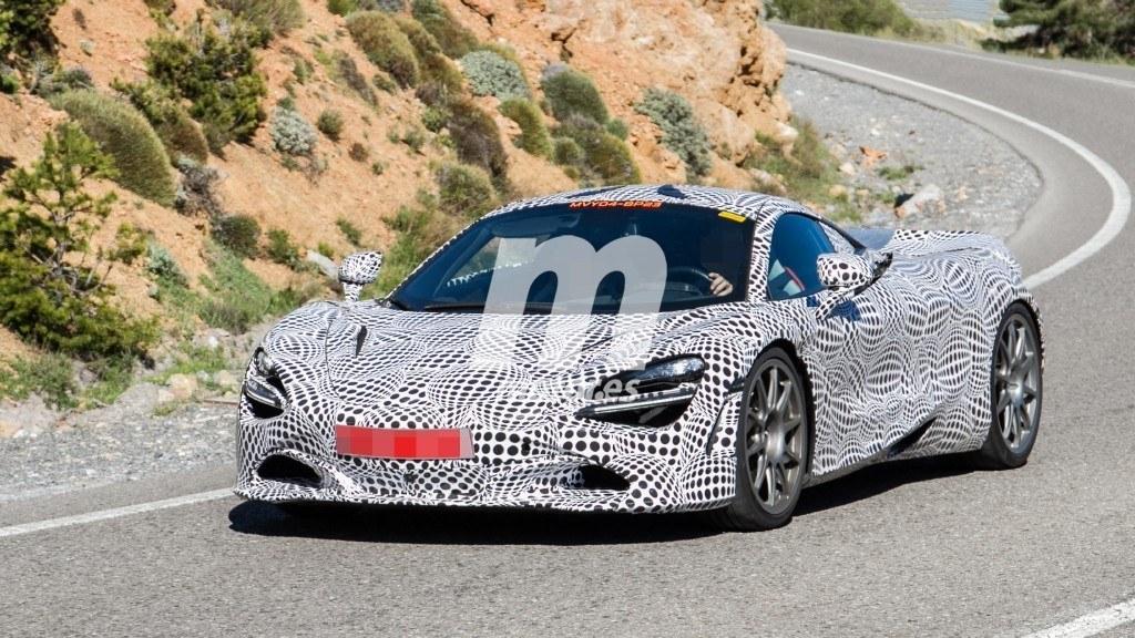 McLaren prueba en España sus híbridos de nueva generación