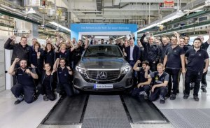 La producción del nuevo Mercedes EQC comienza oficialmente en Bremen