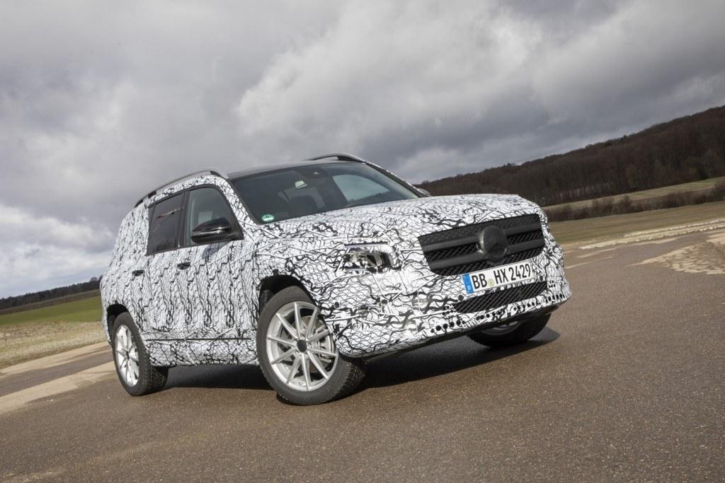 Mercedes ofrece las primeras informaciones técnicas del nuevo GLB 2019