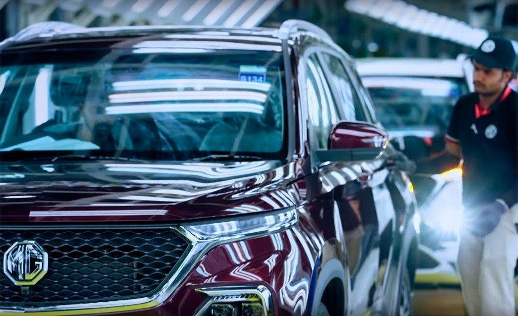 Así es fabricado el MG Hector, el nuevo SUV de Morris Garage