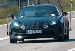 Renault está en Nürburgring probando un misterioso prototipo del Alpine A110