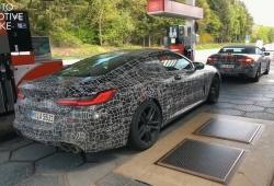 Los prototipos de los BMW M8 Coupé y Cabrio cazados juntos en Nürburgring