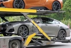 El nuevo BMW Serie 8 Gran Coupé cazado al desnudo en la calle