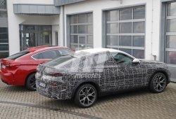 Nuevas fotos espía de la tercera generación del BMW X6 dejan a la vista su nuevo interior