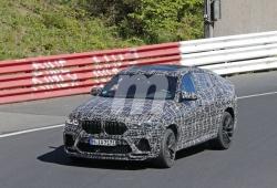 El nuevo BMW X6 M pierde camuflaje, esta vez en las nuevas pruebas en Nürburgring