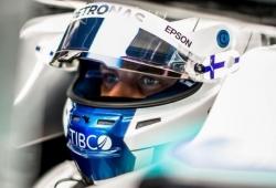 """Bottas le da un repaso a Hamilton: """"Cada vez me siento más cómodo en el W10"""""""