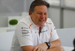 Brown desconfía de Ferrari tras negarse estos a desarrollar los neumáticos de 18 pulgadas