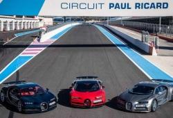 Bugatti enfrenta los Chiron y Chiron Sport al Paul Ricard