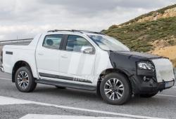 El nuevo Chevrolet S10 facelift ha sido visto en Europa