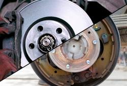 Frenos de disco vs frenos de tambor