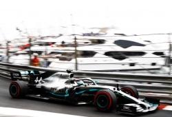 """Día perfecto para Mercedes: """"El coche ha sido manejable y agradable de pilotar"""""""