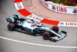 Hamilton manda en una tensa primera sesión en Montecarlo