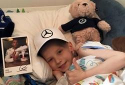 Harry, el chico que inspiró a Hamilton para ganar el Gran Premio de España