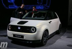 Honda e: así será el nombre del nuevo eléctrico de Honda