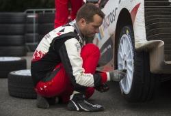 Juho Hänninen, con un cuarto Toyota Yaris WRC en Cerdeña