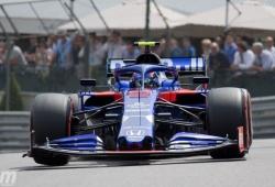 Kvyat y Albon confirman la buena racha de Toro Rosso con ambos coches en Q3